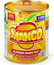 Keynote Alphonso Mango Pulp, Weight (850 g) (Orange)