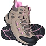 Mountain Warehouse Adventurer Womens Boots - Waterproof Rain Boots, Synthetic & Textile Walking Shoes, Added Grip Ladies Shoe