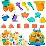 Euyecety Strandleksaker För Småbarn, Sandlåda Leksaker, Toys Barn,Strandleksak Av Plast, Pojke Med Sand Toys, Vatten Att Leka