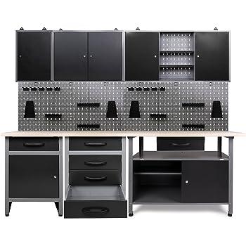 k pper 70412 7 set f r werkstatt 240 cm hergestellt in. Black Bedroom Furniture Sets. Home Design Ideas
