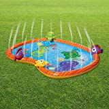 Alfombrilla de riego para juegos de agua, duradera, portátil, inflable, para rociar y salpicar, para piscina, verano, juguete