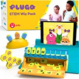 PlayShifu Plugo STEM Pack - Count, Letters & Link | Math, Word Building, Magnetic Blocks, Puzzles & Games | Ages 5-10 years I