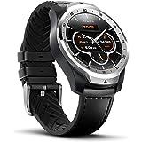 Ticwatch Pro Bluetooth Smart Watch, Mehrschichtiges Display, Herzfrequenz und NFC-Zahlungen basierend auf Google Wear OS, kompatibel mit iPhone/Samsung/Huawei/LG und Anderen Android-Telefonen