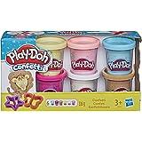 Play-Doh - Pate A Modeler 6 Pots- Confettis - 56 Grammes