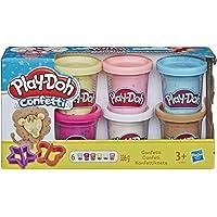 Play-Doh - Pate A Modeler 6 Pots - Confettis - 56 Grammes