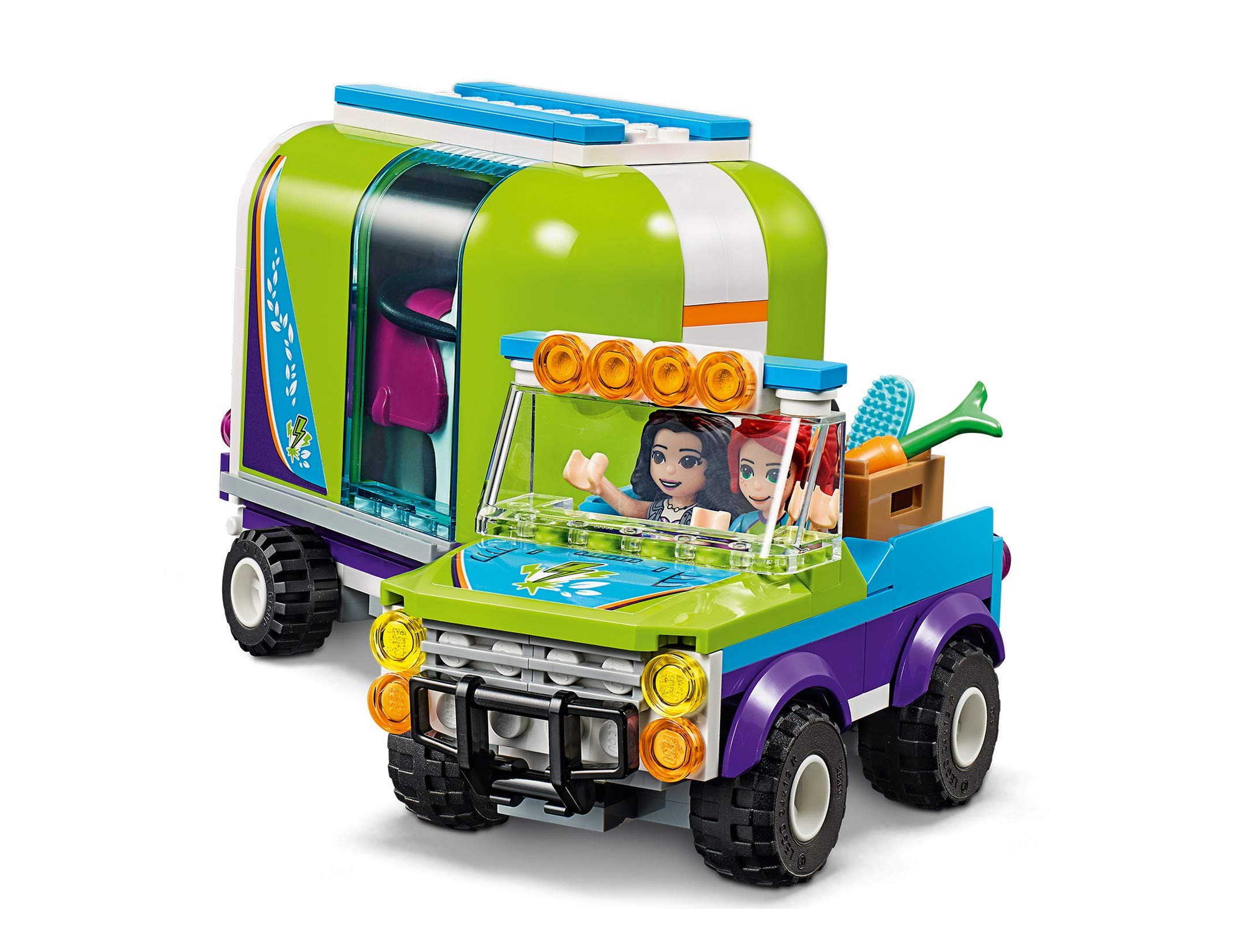 LEGO - Friends Il rimorchio dei cavalli di Mia, Set di Estensione Stabile, Buggy 4x4, Mini-doll Mia ed Emma, Idea Regalo… 5 spesavip