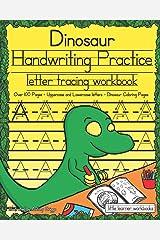 Dinosaur Handwriting Practice: Letter Tracing Workbook (Little Learner Workbooks) Paperback