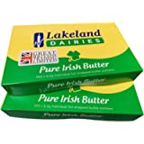 Lakeland Irish Butter 2 Packs of 100 Individual Foil Wrapped Portions from GREAT BRITISH TRADING LIMITED