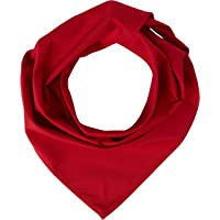 """Stalwart A054 Red Neckerchief, 100% Cambric Cotton, Size: 36"""" x 25"""""""