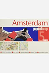 Amsterdam PopOut Map (PopOut Maps) Map