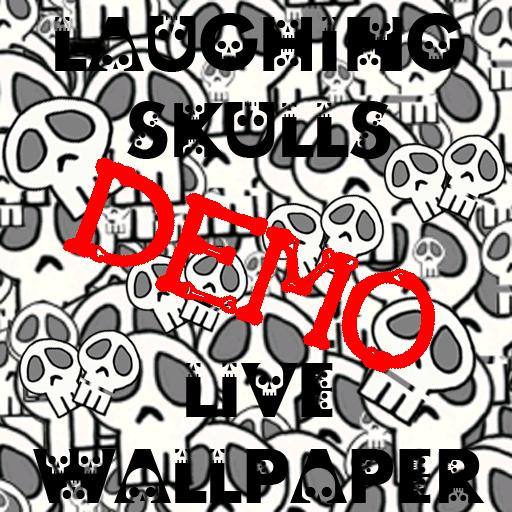 Laughing Skulls DEMO Live Wallpaper (Skull Red Iron)