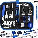 Tonsooze 185 Pcs Kit de Réparation de Montre, Ensemble d'outils de Barre de Ressort Professionnel de Réparation de Montre, En