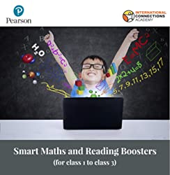 Smart Maths and Reading Boosters for Class 1 to Class 3 by Pearson & INACA