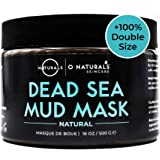 Dead Sea Mud for Face & Body. Best Acne Treatment Organic Deep Pore Minimizer Face Cleansing Pore Vacuum for Oily Skin Blackh