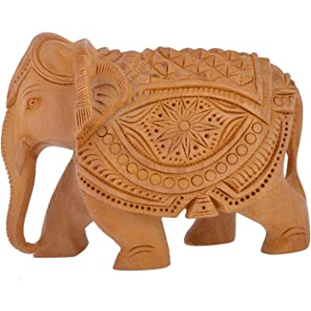 Buy Gac Gaura Art And Crafts Wooden Handicraft Home Decor Elephant