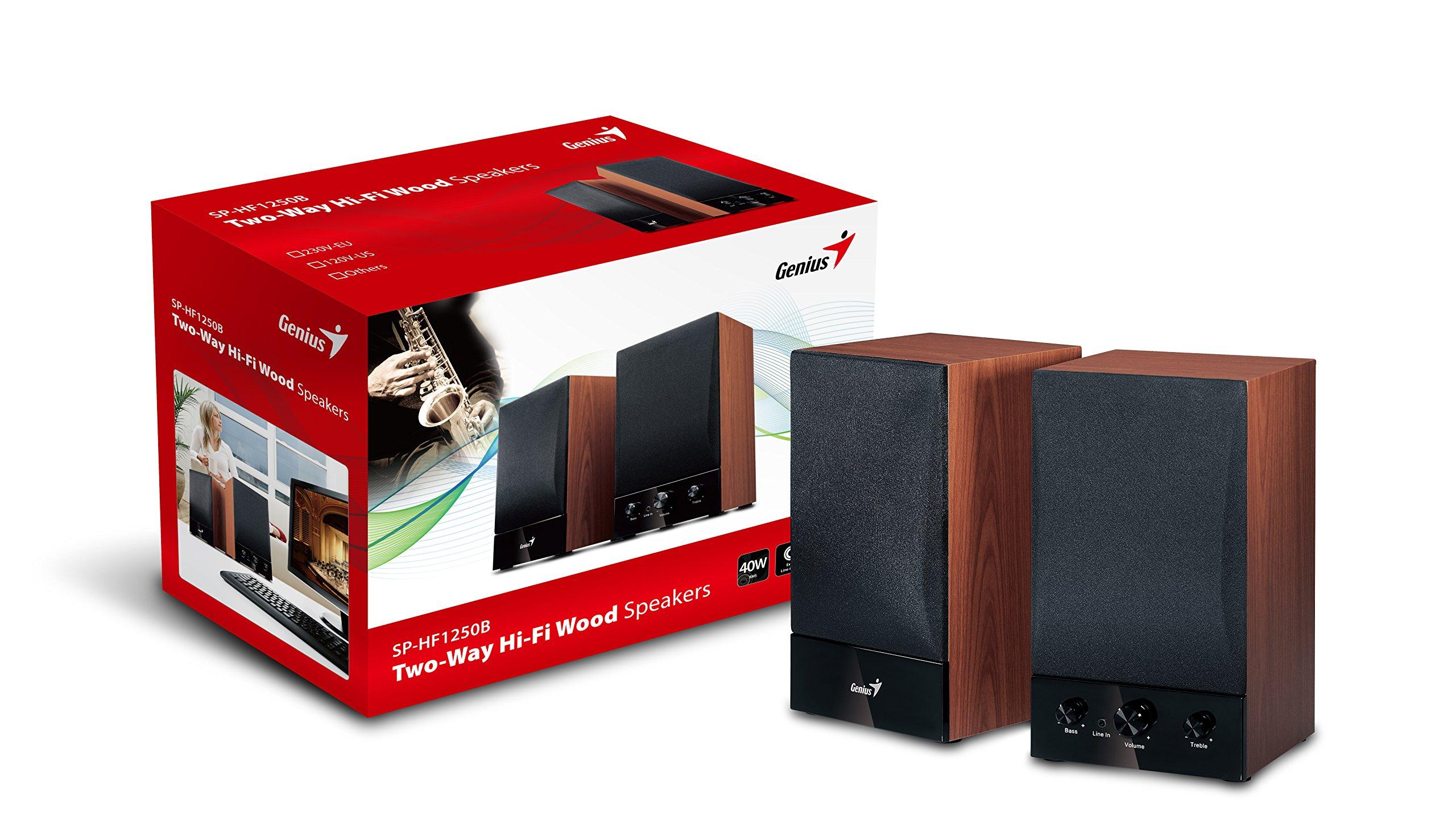 Genius-SP-HF1250B-2-Wege-Aktivbox-Lautsprecher-40-Watt-RMS