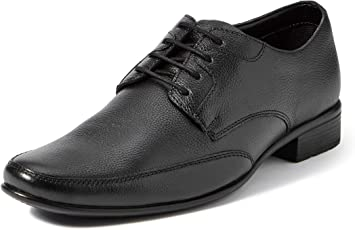 Extacy By Red Chief EXT115 Men's Black Formal Leather Shoes