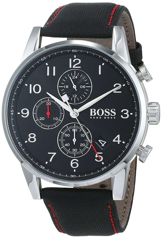 81MmgSpRtUL - Hugo BOSS Reloj Análogo clásico para Hombre de Cuarzo con Correa en Tela 1513535