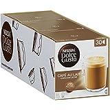 Nescafé Dolce Gusto capsules Cafe au Lait - voordeelverpakking - 90 koffiecups - geschikt voor 45 koppen koffie - Dolce Gusto