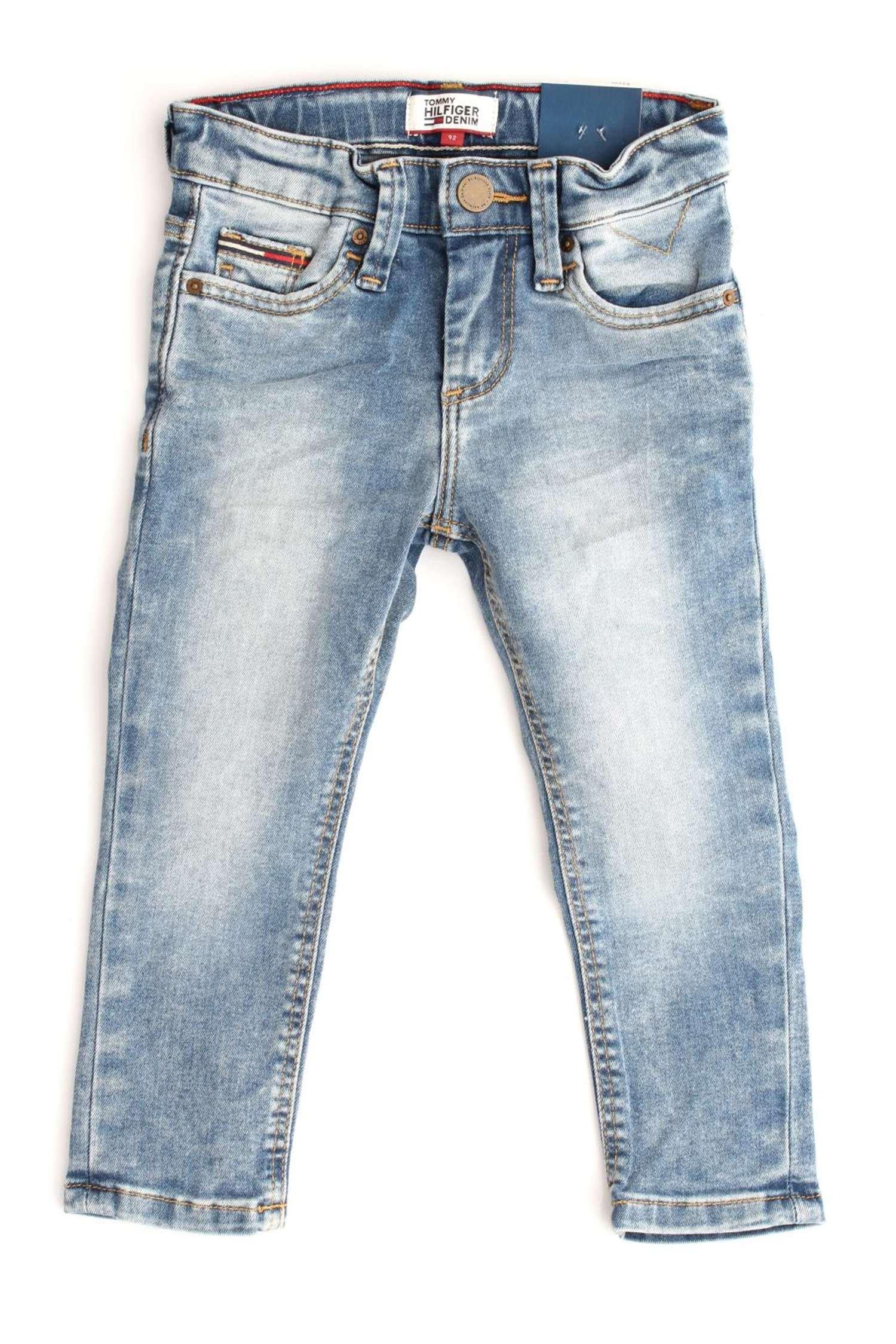 Tommy Hilfiger Scanton Slim Sscstr Jeans para Niños
