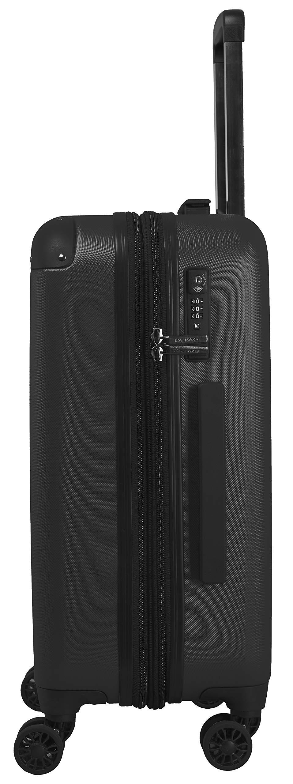 TRAVELWOLF-Reisekoffer-Deluxe-20-Gepckset-mit-3-Hartschalen-Koffer-Trolley-mit-TSA-Schlo-Zwillingsrollen-Gren-M-L-XL