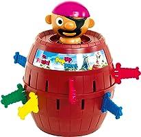 """TOMY Kinderspiel """"Pop Up Pirate"""" - hochwertiges Aktionsspiel für die ganze Familie - Piratenspiel verfeinert die..."""