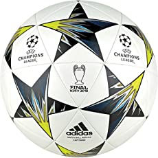 Adidas White Men's Finale Kiev Capitano Football