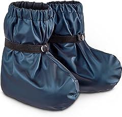 TED COLLINS Regenfüßlinge, wasserdicht, robust, strapazierfähig, one size - Regenschuhe / Regenüberschuhe / Lauflernschuhe / Buddelschuhe / Krabbelschuhe / Babyschuhe / Überziehschuhe -