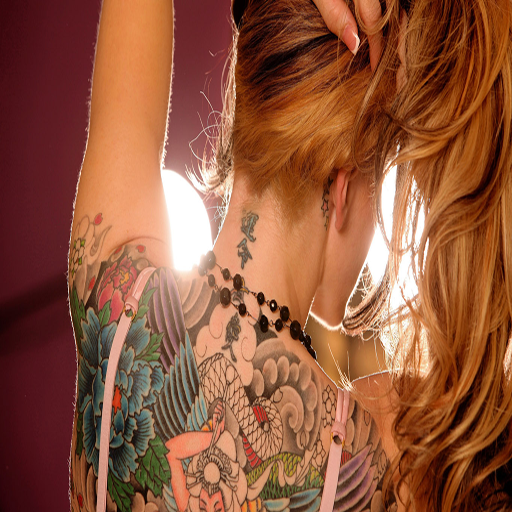 Amazon Com Tattoo Ideas Free Game Appstore For Android: Girl With Tattoo Live Wallpaper Free: Amazon.co.uk