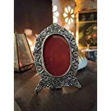 Urja Utsav® Antique Finish Photo Frame of White Metal perfect gift for your Love ones / Father's Day (Antique 1)