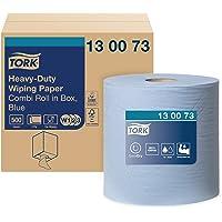 Tork 130073 Papier d'essuyage multi-usages Premium, compatible avec les systèmes W1 et W2 / 2 plis - 170m x 25,8cm - 1…