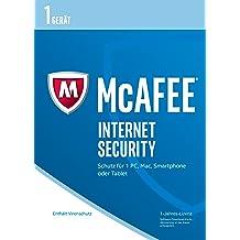 McAfee Internet Security 2017 für 1 Gerät (Download Code) [Online Code]