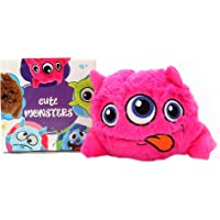 Pawsindia Bouncing Aliens Interactive Plush Electric Bouncer Dog/Cat Toy Pink