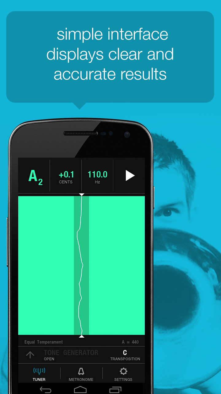 Tunable: Tuner, Metronome, and Recorder Capture d'écran