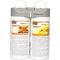 Rubbermaid Commercial Products Recharges pour système Microburst Duet parfums Tender Fruits et Citrus Leaves