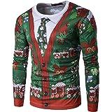 WHATLEES Hip Hop Slim Fit sweatshirts met lange mouwen in 3D kleurrijke kleks print