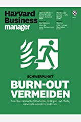 Harvard Business Manager 5/2017: Burn-out vermeiden Broschiert