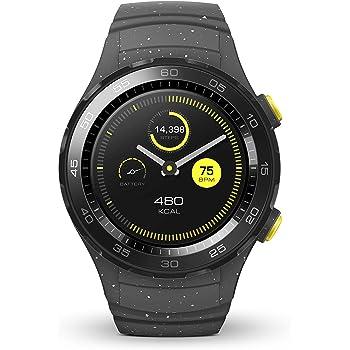 HUAWEI Watch 2 Smartwatch, 4 GB Rom, Android Wear, Bluetooth, WiFi, Monitoraggio della frequenza cardiaca, Grigio (Concrete Grey)
