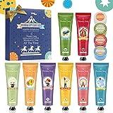 Crema Mani, Balsamo Labbra, Eleanore's Diary 8 PCS crema nutriente per le mani e 4 PCS balsamo labbra, Festa della mamma, Cre