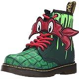 Dr. Martens Raph T Lamper Boot Green Green Red
