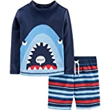 Simple Joys by Carter's traje de baño de 2 piezas para bebés y niños pequeños