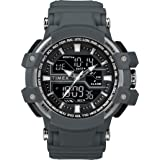 Timex Men's Tactic DGTL Big Combo Resin Strap Watch