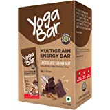 Yogabar Chocolate Chunk Multigrain-Energy Bars - Healthy Diet Snacks with Almonds, Oats and Millets, Gluten Free and…