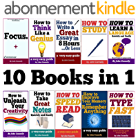 10 Books in 1: Memory, Speed Read, Note Taking, Essay Writing, How to Study, Think Like a Genius, Type Fast, Focus…