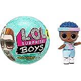 LOL Surprise Boys, Bambola Boy collezionabile, Trovi 7 sorprese, un divertente effetto cambio colore e accessori alla moda, L