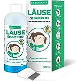Silberkraft Läuseshampoo 100 ml mit Nissenkamm, zur Behandlung bei Kopfläusen und Nissen, effektives 2-Phasen-Shampoo…