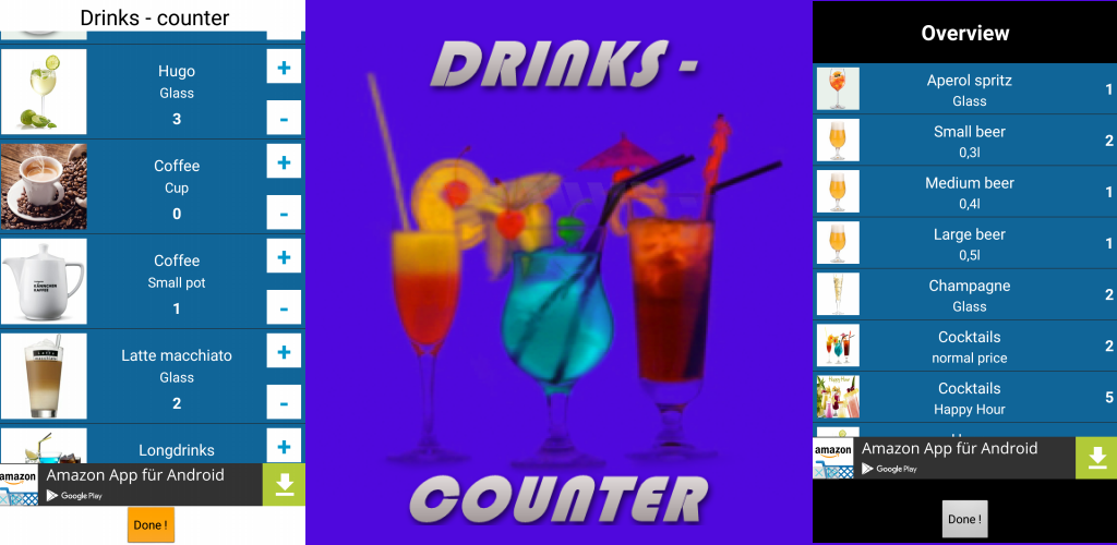 Zoom IMG-1 drinks counter