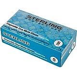 Glocableties, guanti usa e getta in nitrile, di alta qualità, blu, confezione da 100guanti usa e getta,senza polvere AQL 1.