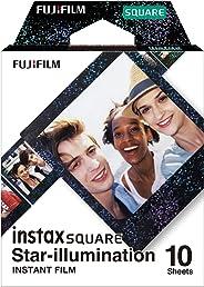 Fujifilm 16633495 Instax Square Film, Star Illumination (10 Exposures) - Star-Like Pattern