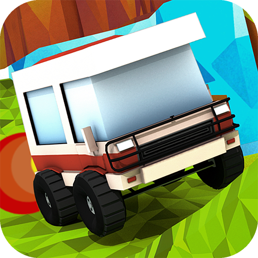 Stunt Truck - Offroad 4x4 Monster Car Racing Destruction Game Free